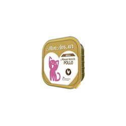 MONAMOUR CAT MOUSSE KITTEN POLLO 100 GR