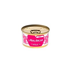 MONAMOUR CAT GOLD MOUSSE KITTEN VITELLO 85 GR