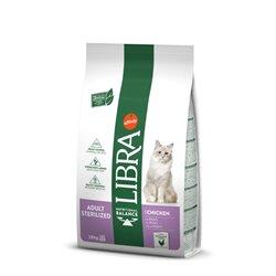 LIBRA CAT STERILIZZATO POLLO 10 KG
