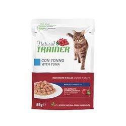 TRAINER NATURAL CAT ADULT CON TONNO GR 85