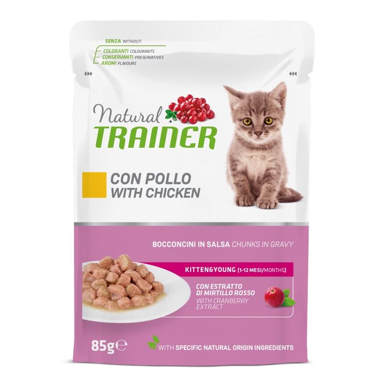 TRAINER NATURAL CAT KITTEN POLLO GR 85