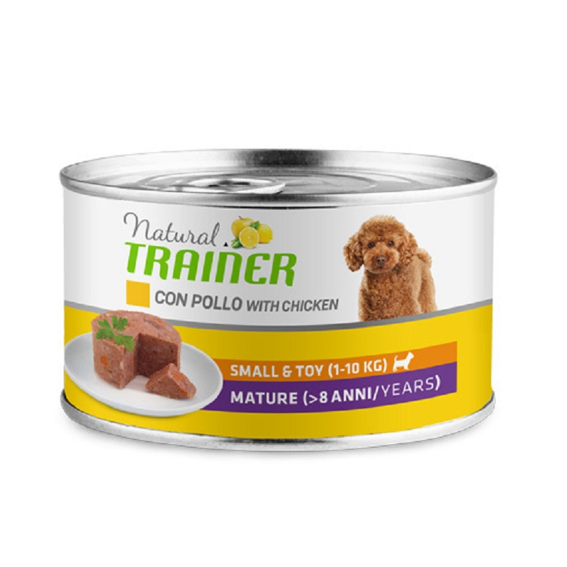 TRAINER NATURAL SMALL TOY MATURITY POLLO FRESCO 150 GR