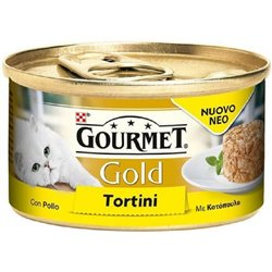 GOURMET GOLD TORTINI CON POLLO E CAROTE 85 GR