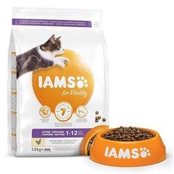 IAMS FOR VITALITY CAT KITTEN POLLO 1