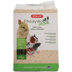 LETTIERA TRUCIOLO RODY WOOD NATURALE 60 LT KG 4