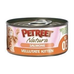 PETREET VELLUTATE KITTEN SALMONE 60 GR