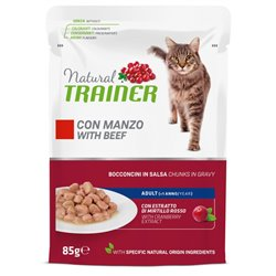 TRAINER NATURAL CAT ADULT MANZO 85 GR