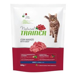 TRAINER NATURAL CAT ADULT MANZO 300 GR
