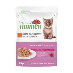 TRAINER NATURAL CAT KITTEN TACCHINO 85GR