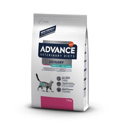ADVANCE CAT URINARY STERILIZED LOW CALORIE 7