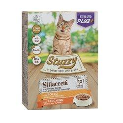 STUZZY CAT SFILACCETTI STERILIZED POLLO E TACCHINO 12 X 85 GR